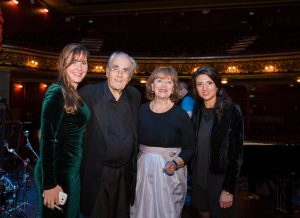 Michel Legrand with Cork French Film Festival Team