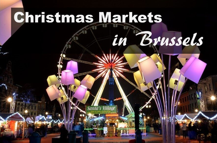 Christmas Markets in Brussels (25/11-1/01)